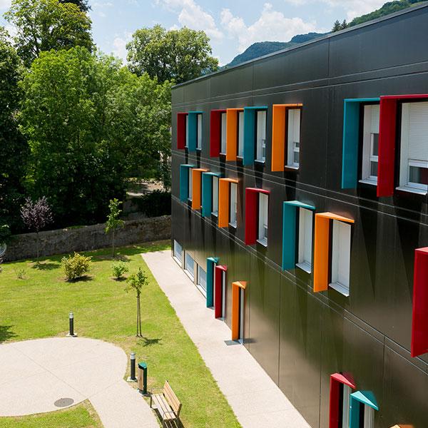 Le Jardin du Centre Hospitalier Michel Perret